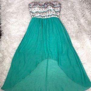 🔥Fancy high low sequins dress 🔥